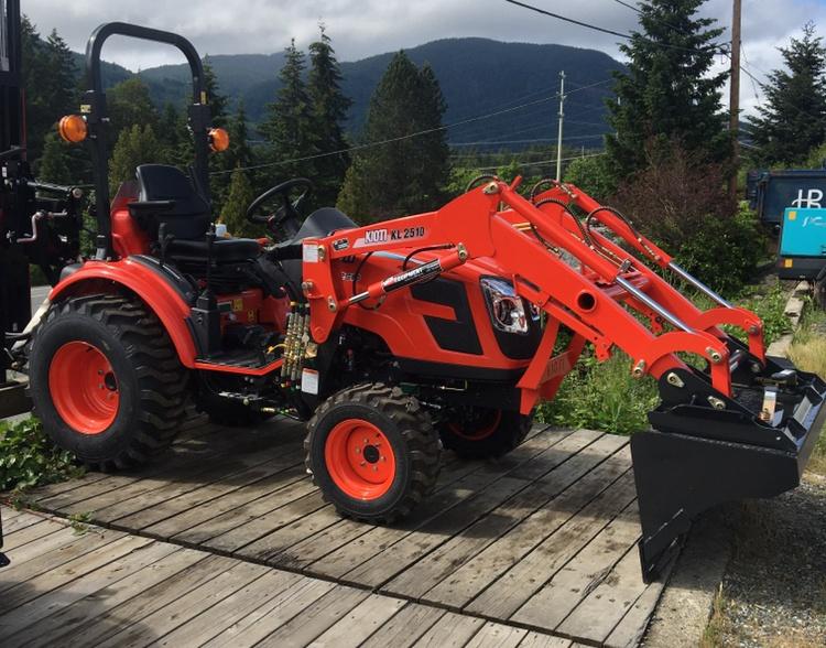 Kioti KL-2510 Diesel Tractor